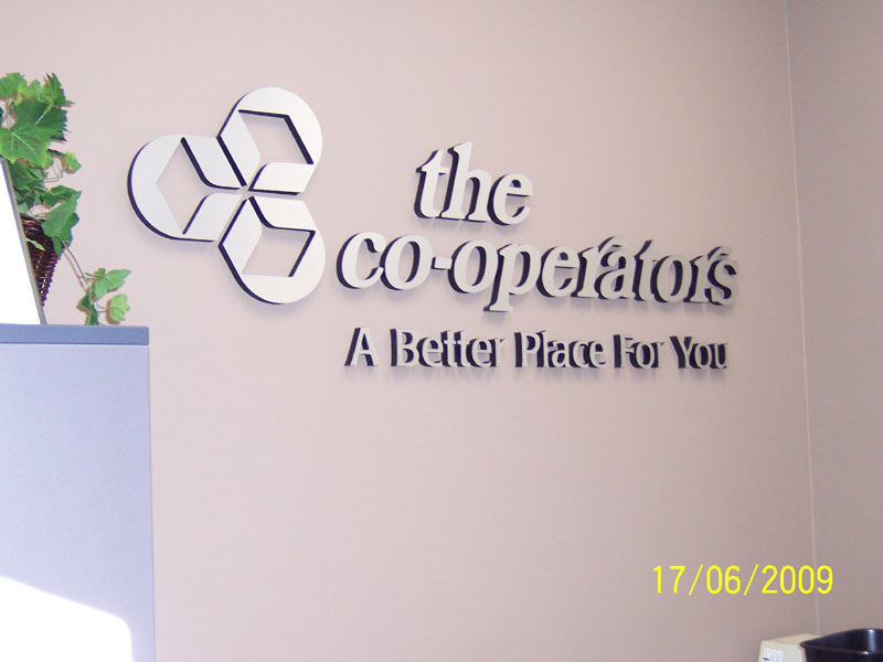The co-operators signage